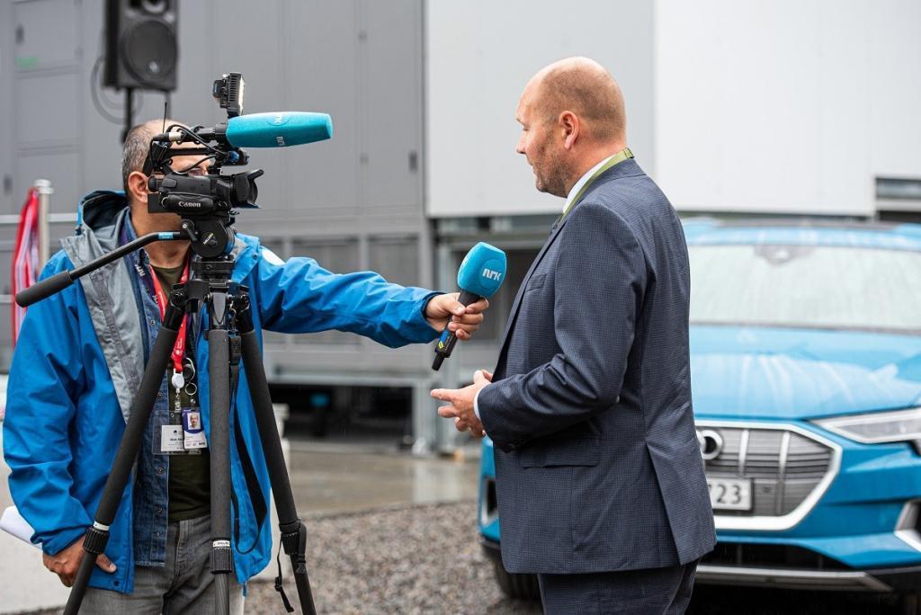 Tor Kristian Gyland Opening ceremony NRK