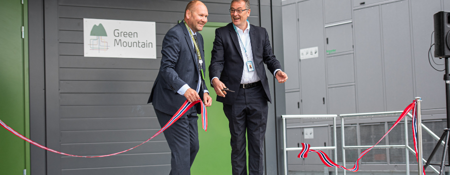 Ribbon Cutting Ceremony Volkswagen Rjukan