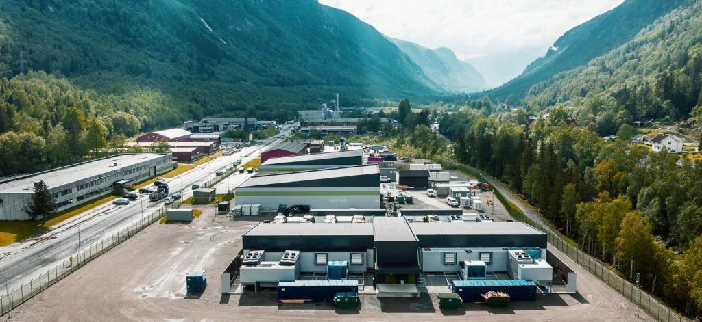 Data Centre for Volkswagen at Green Mountain in Rjukan