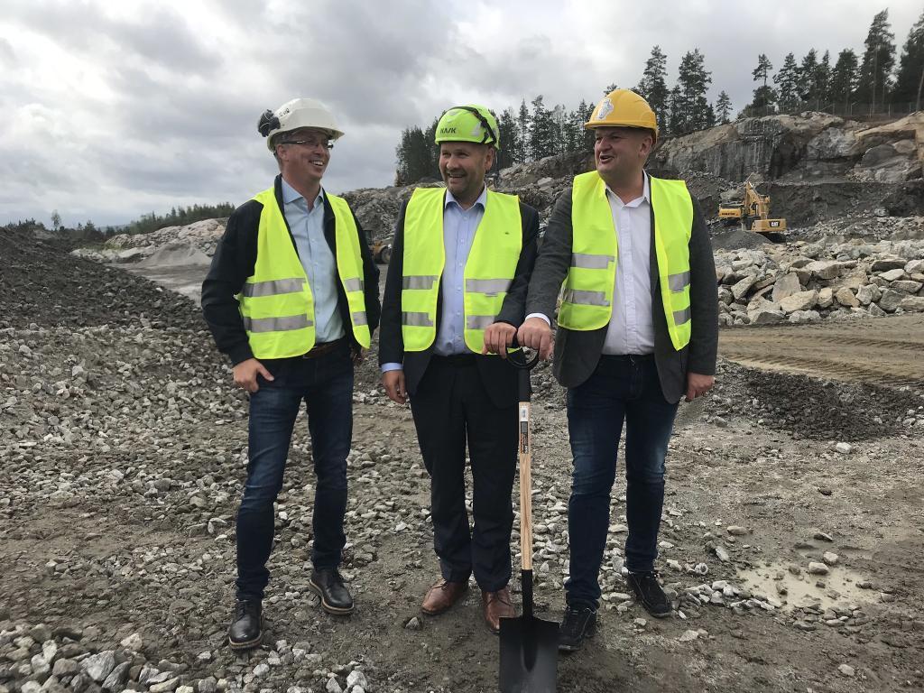 Green Mountain Data Centre Oslo Construction Start