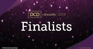 Logo image og Green Mountain on the DCD Awards Shortlist.