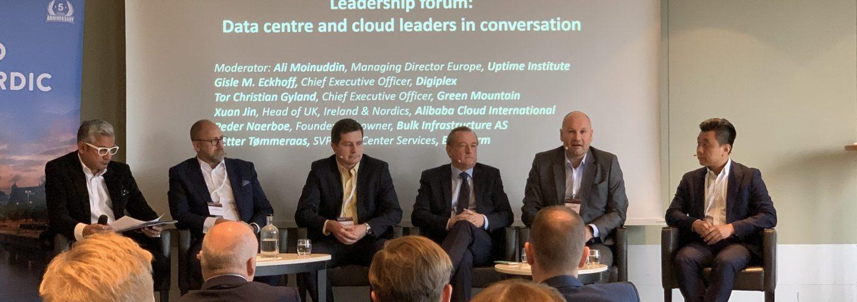 Leadership panel Datacloud Nordic 2019