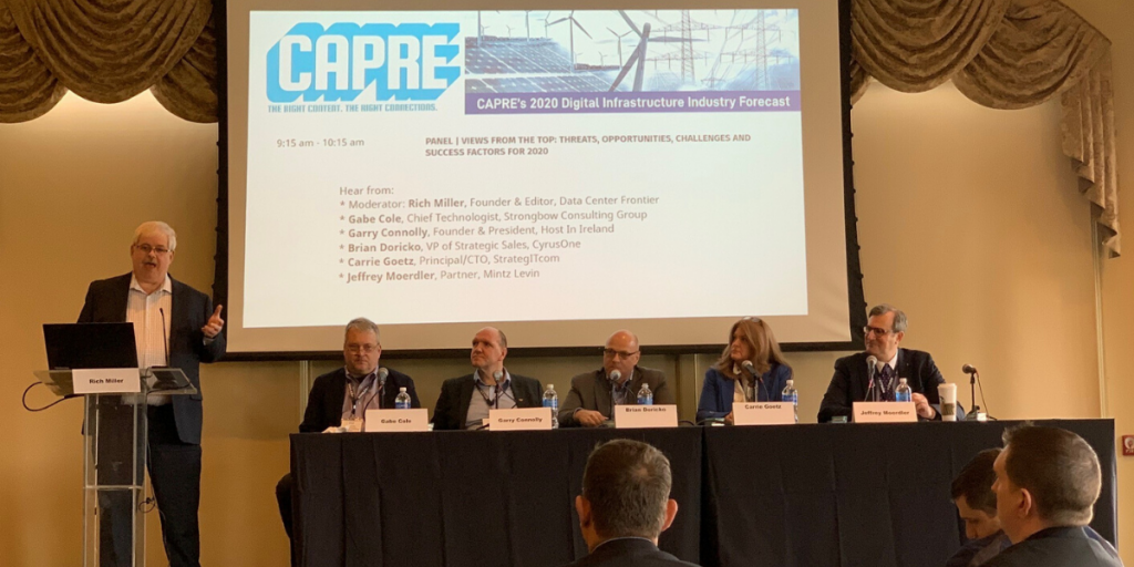 Keynote Panel - CAPRE Infrastructure Industry Forecast