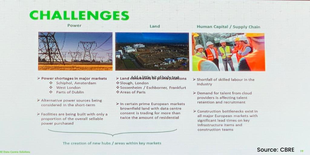 European Data Center Market Challenges