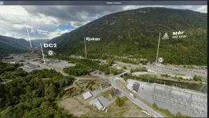 VR Data Center Tour DC2-Rjukan