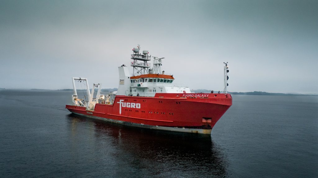 NO-UK cable vessel: MV Fugro Galaxy