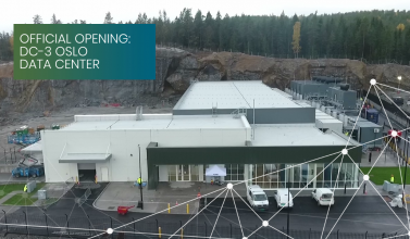 DC3-Oslo Green Mountain Data Center Opening