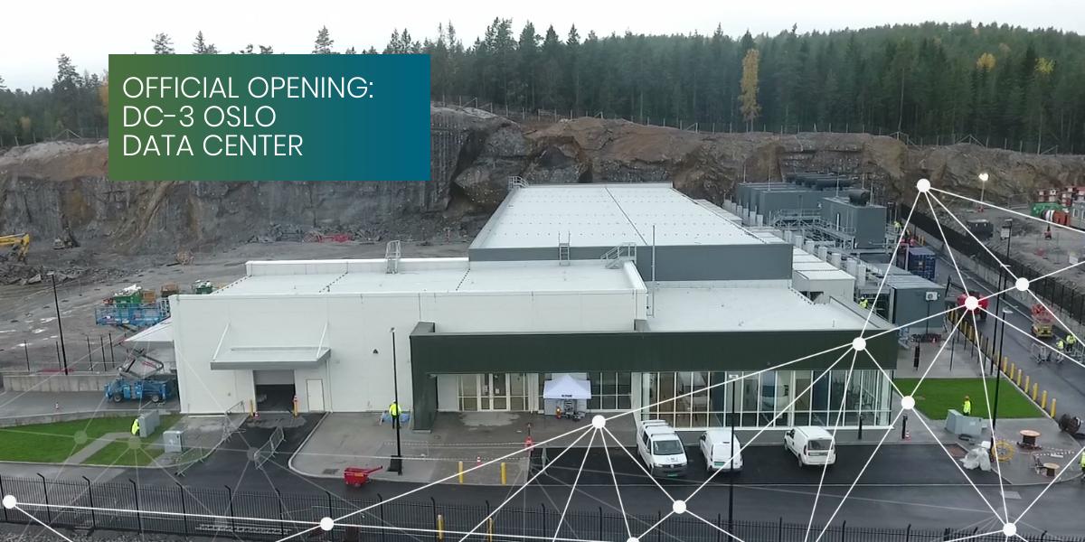 DC3-Oslo Green Mountain Data Center Opening
