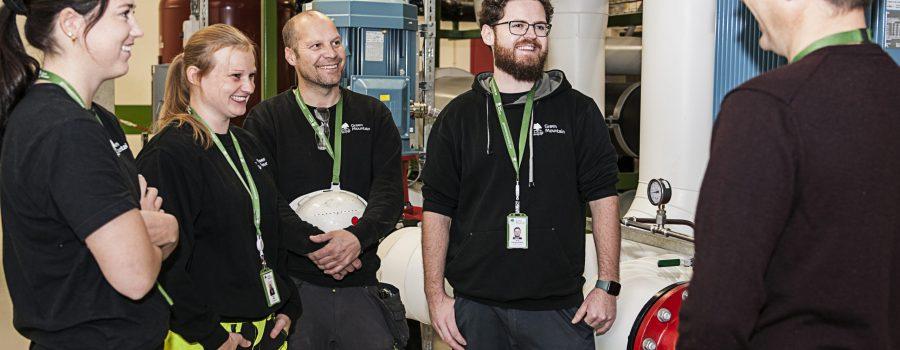 Data Center Training for employees