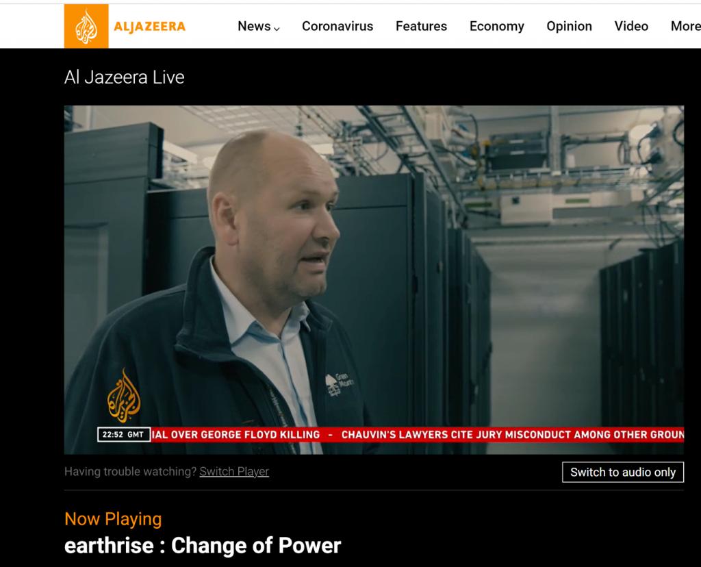 Green Mountain featured on Al Jazeera