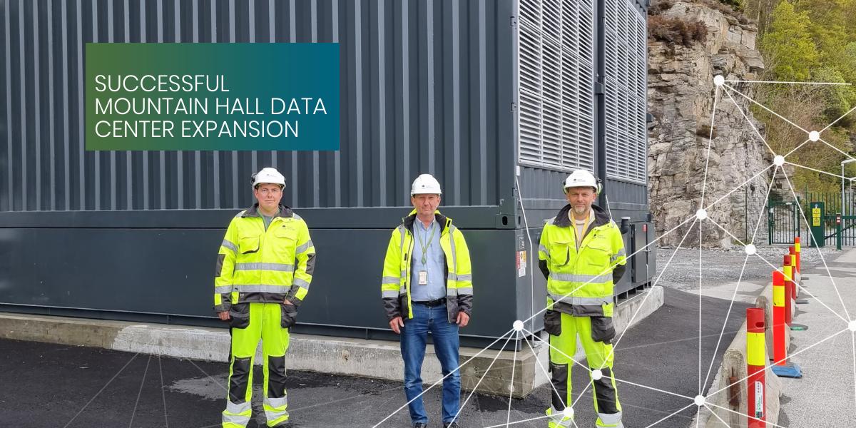 Data Center Expansion DC1-Stavanger