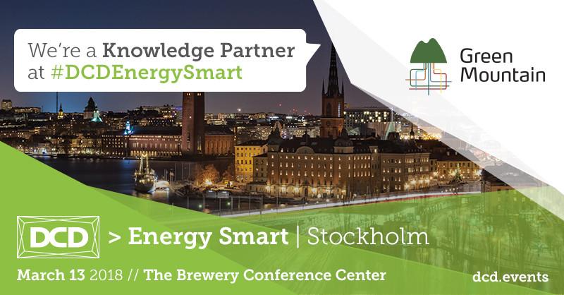 DCD Energy Smart, Green Mountain at DCD Energy Smart 2018