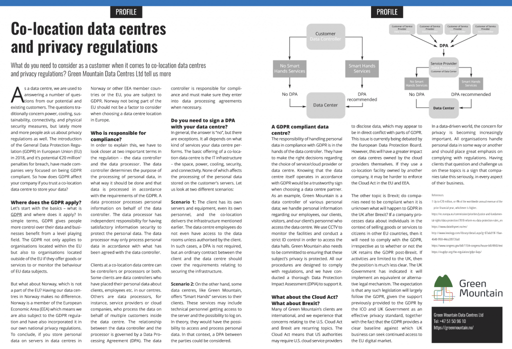 data centre and gdpr, Data Centres and privacy regulations