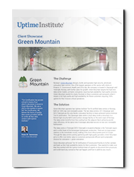 Case Study by Uptime Institute