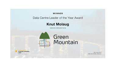 Data Centre Leader of the Year Award