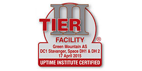 Green Mountain Data Centre Tier III Certification